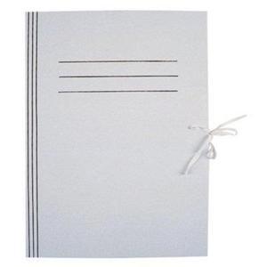 Teczka wiązana A4 KIEL TECH biała op.50szt. - 2825400189
