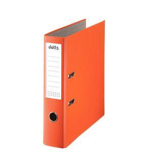 Segregator DATURA A4 75mm - pomarańczowy - 2825406040