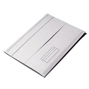 Teczka z gumką A4 KIEL TECH op.50 kartonowa biała - 2825400207