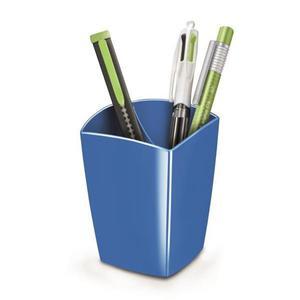 Kubek na długopisy CEP Pro Gloss - niebieski - 2825406844