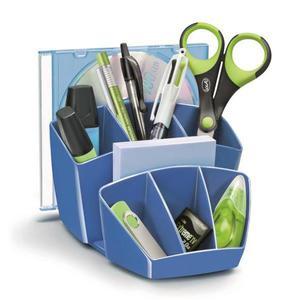 Przybornik na biurko CEP Pro Gloss - niebieski - 2825406846