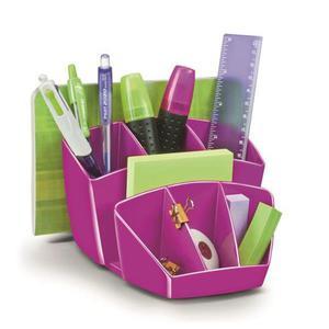 Przybornik na biurko CEP Pro Gloss - różowy - 2825406847