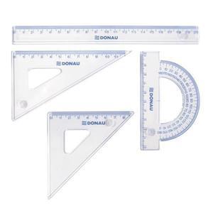 Zestaw geometryczny DONAU - mały transparentny - 2825407126