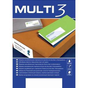 Etykiety MULTI 3 48,5x16,9mm op.100 AP10490 - 2847290415
