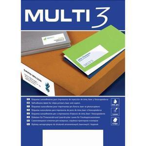 Etykiety MULTI 3 38x21,2mm op.100 AP4716 - 2847290436