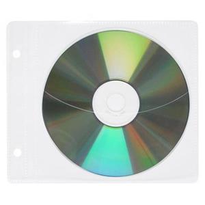 Koperty na CD/DVD OFFICE PRODUCTS do wpinania PP 10szt. transparentny - 2847290589