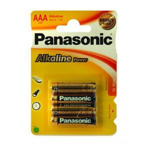 Bateria PANASONIC AAA op.4 - 2847290931
