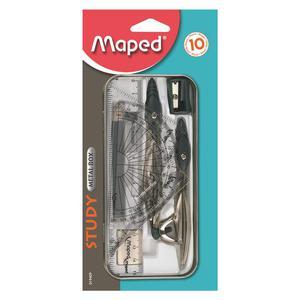 Cyrkiel MAPED Study 10 elementów 019409 - 2847290940