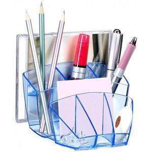 Przybornik na biurko CEP Ice - niebieski C580IC-01 - 2847291046