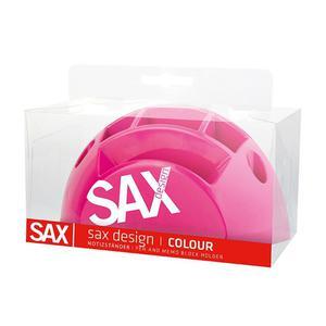 Przybornik na biurko SAX Design - różowy - 2847291053