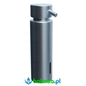 Dozownik mydła w płynie MERIDA mocowany do blatu poj. 300 ml - mosiądz chromowany matowy - 2838466794