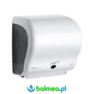 Automatyczny podajnik ręczników papierowych MERIDA LUX SENSOR CUT MAXI- biały - 2838466802