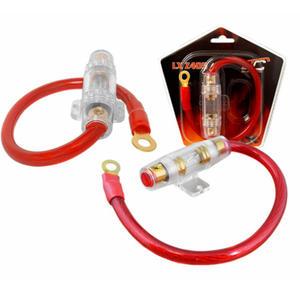 Oprawa bezpiecznika z kablem 4GA 25cm + bezpiecznik 80A - 2837779774