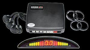 Samochodowy czujnik parkowania 2616-N04 czarne czujniki - 2837781049