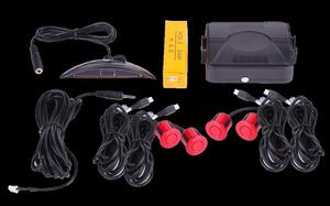Samochodowy czujnik parkowania 2616-N04 czerwone czujniki - 2837781578