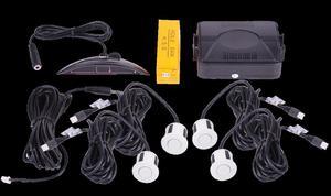 Samochodowy czujnik parkowania 2616-N04 białe czujniki - 2837781579