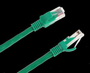 Patchcord kabel UTP kat. 6e wtyk - wtyk 10m zielony INTEX - 2837781946