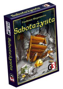 Sabotażysta - Poznań, hiperszybka wysyłka od 5,99zł! - 2825161271