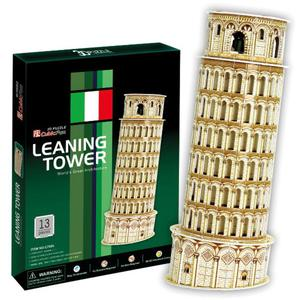 Krzywa Wie�a Pisa Tower PUZZLE 3D - 2825169364