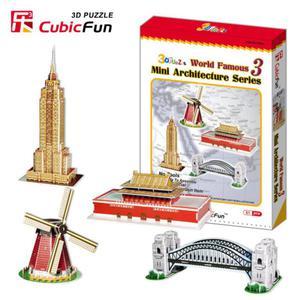 Mini architektura seria 3 PUZZLE 3D - 2825169369