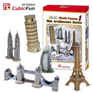 Mini architektura seria1 PUZZLE 3D - 2825169370