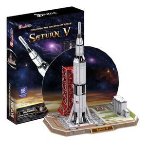 Rakieta Saturn V PUZZLE 3D - 2825169374