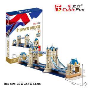 Tawer Bridge 120 el. PUZZLE 3D - 2825169378