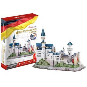 Zamek Neuschwanstein PUZZLE 3D - 2825169383