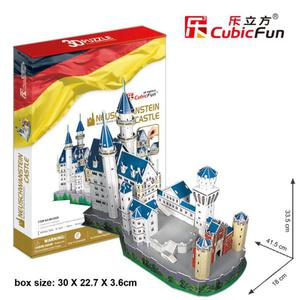 Zamek Neuschwanstein PUZZLE 3D - 2825169384