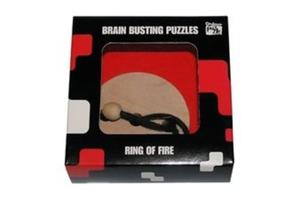 PROFESSOR PUZZLE - BRAIN BUSTING PUZZLE - RING OF FIRE - 2825170855