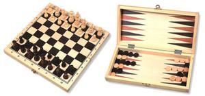 Zestaw Szachy/Backgammon (670011)