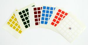 Naklejki z logo Rubik na kostkę 5x5x5 - Poznań, hiperszybka wysyłka od 5,99zł! - 2825161643