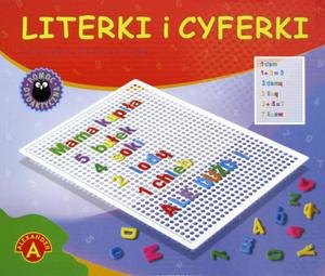 Literki i cyferki w pudełku - 2825161766