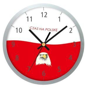 Zegar ścienny Czas na Polskę - 2822993386