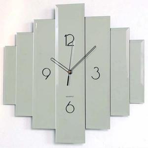 Zegar naścienny z luster - 2822993144