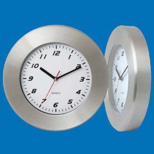 Zegar ścienny ze stali solid #1 - 2822993147