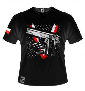 Koszulka patriotyczna - pistolet VIS - Husaria - 2846307197