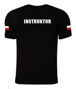 Koszulka INSTRUKTOR czarna TigerWood - 2850945248