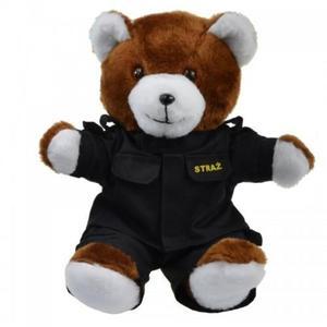 Duży miś Strażak - prezent dla strażaka - 2878857925