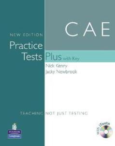 CAE PRACTICE TESTS PLUS NEW - 2824305387