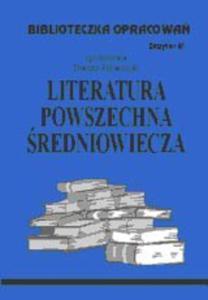 B.61 - LIT.POWSZECHNA ŚREDNIOW - 2824303115
