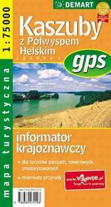 Kaszuby - mapa turystyczna gps - 2824301887