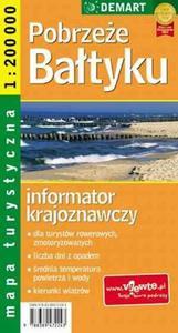 Pobrzeże Bałtyku. Mapa turystyczna 1:200 000 - 2824301876