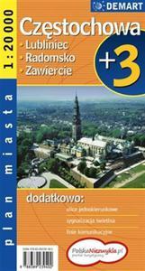 Częstochowa plus 3. Plan miasta - 2824294087