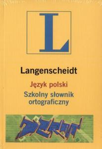 Język polski. Szkolny słownik ortograficzny (+CD)