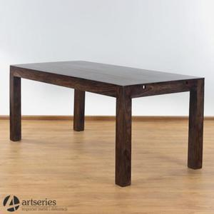 U-S-Z-K-O-D-Z-E-N-I-E Drewniany stół - pęknięta deska P16 - 2835053377