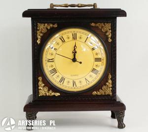 Zegar zegarek drewniany dekoracja prezent 64569 - 2829132974