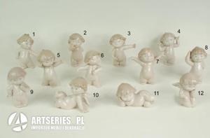 Aniołek z porcelany, aniołki różne rodzaje - 36050 - Sagrado