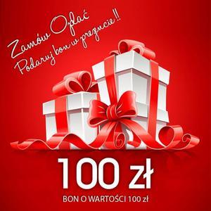Bon podarunkowy o wartości 100 zł | uniwersalny pomysł na prezent |