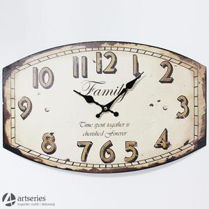 Duży wypukły zegar 82483 do powieszenia na scianie family - 2829133653